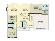 Ranch House Plans Open Floor Plan I Love This Plan The Durango Model Plan Features A Compelling