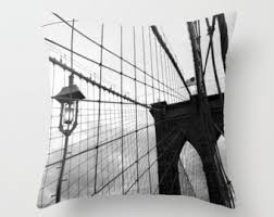 New York City Home Decor New York City Pillow Etsy