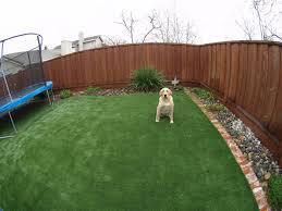 artificial grass dog run installation projetcs in california