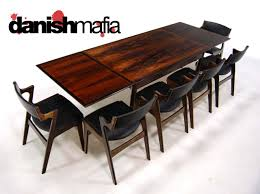 rosewood dining room furniture mid century danish modern rosewood dining table eames danish mafia