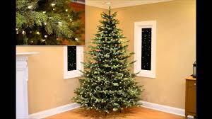 christmas pre lit vermont fir artificial christmas tree multi