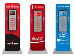 Recharge Station Cell Phone Charging Station Rental Brightbox Charge