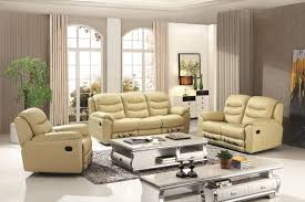 Leather Reclining Sofa Loveseat by Modern Home Reclining Love Seat Genuine Leather Recliner Sofa Set