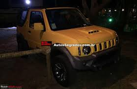 jimmy jeep suzuki new suzuki jimny in 2018 page 4 team bhp