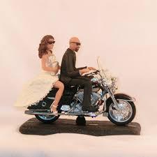 bald groom cake topper motorcycle wedding cake topper bald groom wedding cake cake