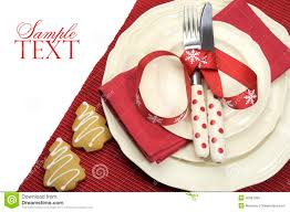 Beautiful Place Settings Beautiful Red Theme Festive Christmas Dining Table Place Setting