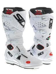 tcx motocross boots sidi white white crossfire 2 srs mx boot sidi freestylextreme