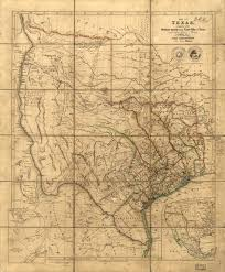 Map Of Texas And Mexico by Maps Of The Republic Of Texas