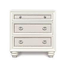 white wood nightstand bellacor