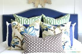 navy blue headboard also inspirations pictures and frame set ic