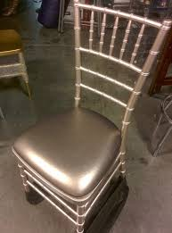 pewter resin chiavari chair w cushion avi maxim wholesale tables