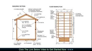 Floor Framing Plans Wood Storage Diy Shed Plans Building Plans For A Shed Youtube