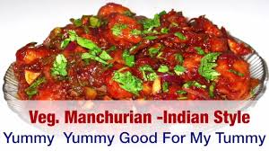 vegetable manchurian recipe indian chinese food style at home