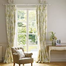 honeysuckle trail camomile ready made curtains laura ashley