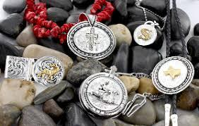 personalized custom western jewelry montana silversmiths