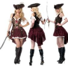 Pirate Woman Halloween Costumes Aliexpress Image