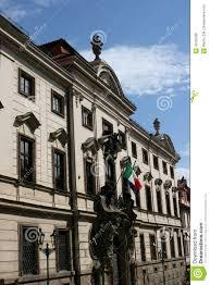 italian embassy prague editorial image image 43292900