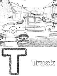 free printable pickup truck coloring pages wallpaper best 4157
