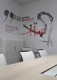 siege design design mural entreprise siege bureau home home