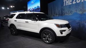 Ford Explorer Build - 2018 ford explorer updates include more tech safety options