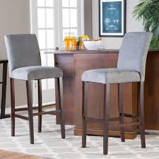 bar stools furniture upholstered counter height bar stools with