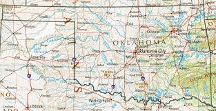 map of oklahoma oklahoma maps perry castañeda map collection ut library