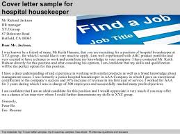 cook housekeeper cover letter