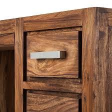 Schreibtisch Naturholz Schreibtisch Sheesham Massivholz Computertisch Bürotisch Tisch