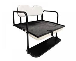 gtw mach 1 rear flip seat kit for ezgo txt golf carts color options