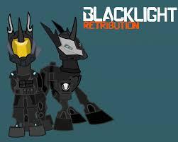 Black Light Retribution Blacklight Retribution Mlp Crossover By Thehuskylord On Deviantart