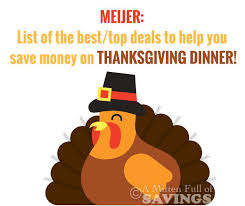 meijer top deals to help you save on thanksgiving dinner a