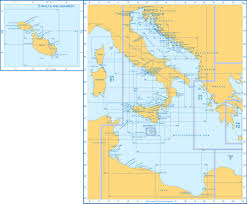 Mediterranean Sea World Map by Admiralty Charts Central Mediterranean Sea And Adriatic Sea E2 57