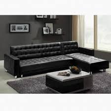 canapé d angle simili cuir convertible canapé convertible 5 paces noir achat vente canapé sofa