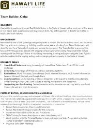 sample resume for real estate agent real estate agent job