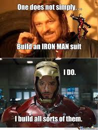 Iron Man Meme - iron man and thor by brian poole 733 meme center