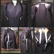 Shadow Costume The Shadow Shadow Holsters Replica Movie Costume