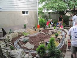 How To Start A Rock Garden by Gardening And Gardens Trains Gardens And Hostas