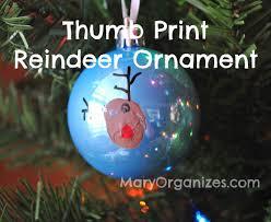 reindeer thumb print ornament creatingmaryshome