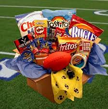 sports gift baskets football gift touchdown kick sports gift baskets