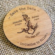 save the date coasters 17 best wooden wedding save the dates images on