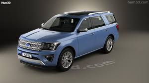 2017 ford expedition platinum 360 view of ford expedition platinum 2017 3d model hum3d store