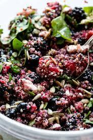 quinoa salad for thanksgiving fresh berry quinoa salad sallys baking addiction
