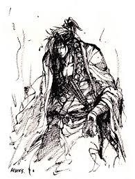 juzu samurai ink sketch by mycks on deviantart
