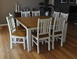 Shabby Chic Dining Table Sets 8 Seat Square Dining Table Foter