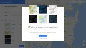 Create Custom Google Map Customize Color With Styled Google Maps In Android