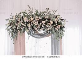 wedding arches decorated with flowers wedding arch stock images royalty free images vectors