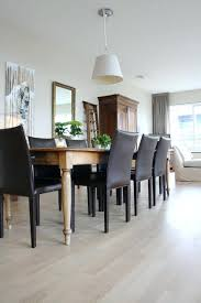 Modern Dining Room Table With Bench with Rustic Modern Dining Chairs Fascinating Chairs Design Dining Room