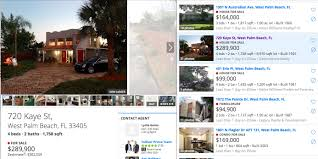 west palm beach homes of wealthy and average people