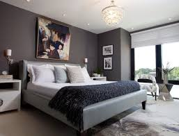 Bedroom Paint Ideas Brown Dark Gray Master Bedroom Ideas White Chandelier White Red Bed