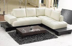 Sofa Wholesale Divani Casa Polaris Contemporary Bonded Leather Sectional Sofa